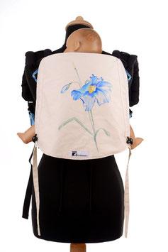 Huckepack Onbuhimo Toddler-Blume (handgemaltes Unikat)