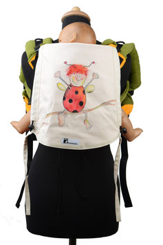 Huckepack Onbuhimo Toddler-Käfer (handgemaltes Unikat)