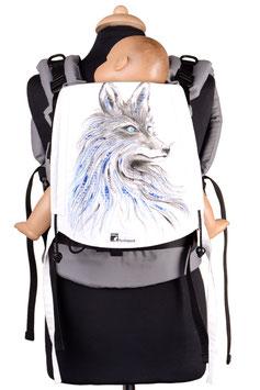 Huckepack Full Buckle Medium-Fuchs (handbemaltes Unikat)