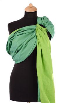 Huckepack Sling-grün/apfelgrün