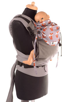 Huckepack Half Buckle Medium-Füchse