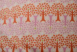 orange/pink trees