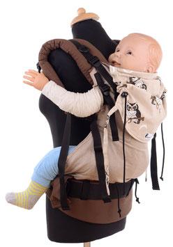 Huckepack Full Buckle Preschooler - Eulen