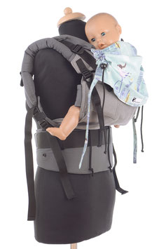 Huckepack Full Buckle medium-Peter Pan