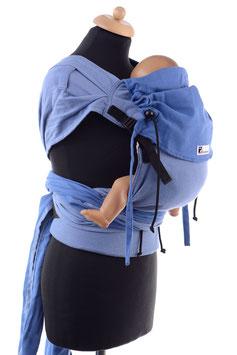 Huckepack Wrap Tai Toddler-hellblau/blau (Standard)