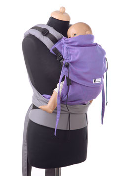 Huckepack Half Buckle medium- lila /grau  (Standarddesign)
