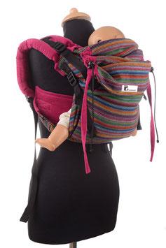 Huckepack Onbuhimo Medium-Girasol Totonicapan/pink cord