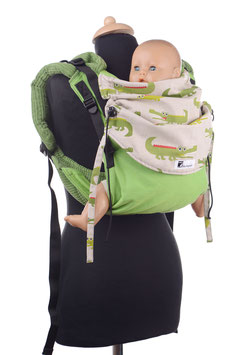 Huckepack Onbuhimo Toddler - Crocodils