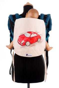 Huckepack Onbuhimo Toddler-Auto (handgemaltes Unikat)
