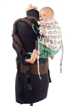 Huckepack Full Buckle Medium-grün Kameras