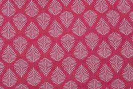 Blätter in pink