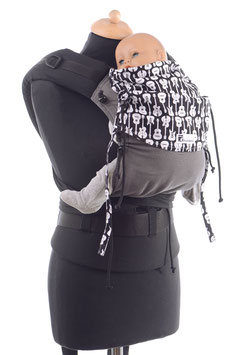 Huckepack Half Buckle Baby - grey/black guitars