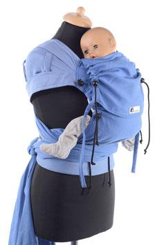 Huckepack Wrap Tai Baby-blau (Standarddesign)