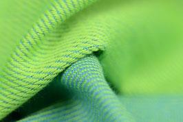 Huckepack Tragetuchstoff-apfelgrün/grün
