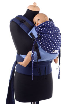 Huckepack Half Buckle Medium-blue stars