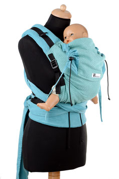 Huckepack Half Buckle Medium-Girasol Turmalin/acquamarine