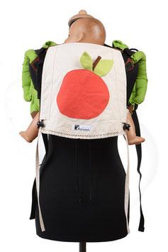 Huckepack Onbuhimo Medium-Apfel  (Unikat)