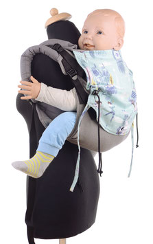 Huckepack Onbuhimo Medium-Peter Pan