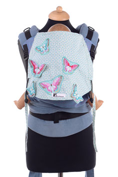 Huckepack Half Buckle Toddler-Schmetterlingswiese  (Unikat)