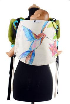 Huckepack Onbuhimo Toddler-Kolibri (handgemaltes Unikat)