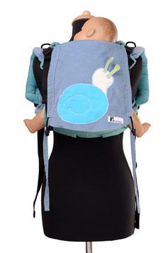 Huckepack Onbuhimo Medium-Schnecke  (Unikat)