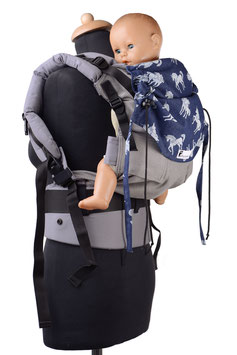 Huckepack Full Buckle Medium-Einhörner