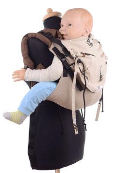 Huckepack Onbuhimo Preschooler - Eulen