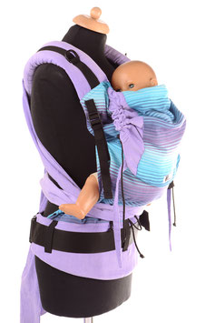 Huckepack Half Buckle Toddler-Girasol Nr.25/purple