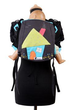 Huckepack Onbuhimo Medium-Haus  (Unikat)
