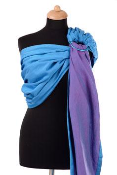 Huckepack Sling-turquoise/purple