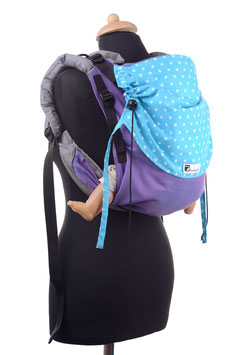 Huckepack Onbuhimo Medium-purple/turquoise stars