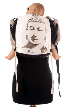Huckepack Onbuhimo Medium-Buddha (handbemaltes Unikat)