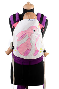 Huckepack Half Buckle Toddler-Rabbit (handpainted)