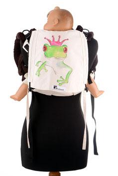 Huckepack Onbuhimo Medium-Froschprinzessin (handbemaltes Unikat)