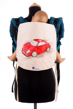 Huckepack Onbuhimo Toddler-Car (hand painted)