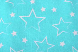 Sterne hellblau