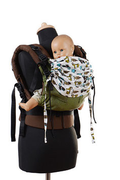 Huckepack Full Buckle Medium-Girasol forest/motorbikes