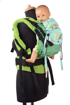 Huckepack Full Buckle Medium-Springtime