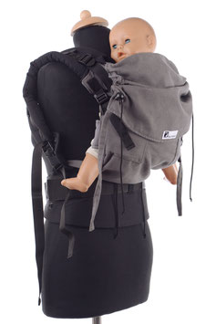 Huckepack Full Buckle medium-grey/black (standard)