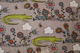 Krokodile/Blumen