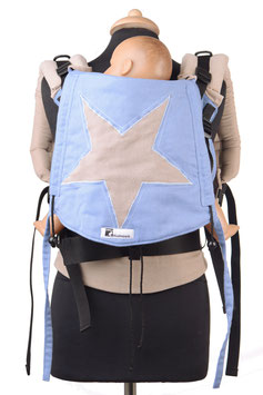 Huckepack Full Buckle Toddler-Stern (Applikation)  (Unikat)