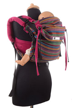 Huckepack Onbuhimo Medium-Girasol Totonicapan/pink