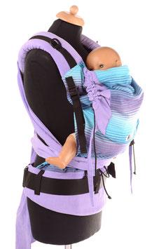 Huckepack Half Buckle Toddler-Girasol Nr.25/flieder