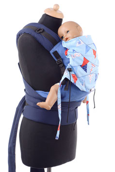 Huckepack Half Buckle Medium- maritim