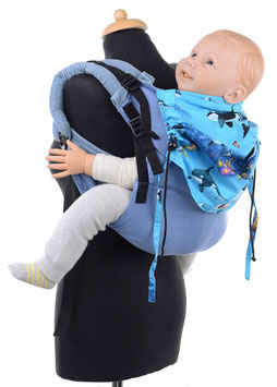 Huckepack Onbuhimo Toddler - Orcas