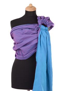 Huckepack Sling-purple/turquoise