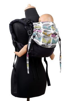 Huckepack Onbuhimo Medium-Colimacon black/busses