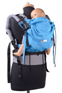 Huckepack Full Buckle Medium-türkis /grau (Standarddesign)