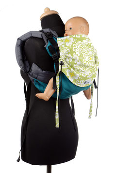 Huckepack Onbuhimo Medium-emerald/green floral