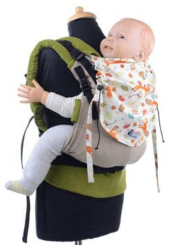 Huckepack Full Buckle Preschooler - Füchse